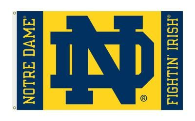 NCAA Notre Dame Fightin' Irish 3'x 5' College Flag