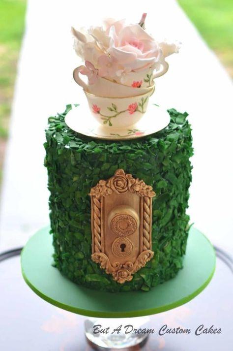 Tea Party Cake by Elisabeth Palatiello