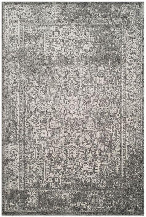 Evoke Grey Ivory 5 Feet 1 Inch X 7 Feet 6 Inch Area Rug Rugs Area Rugs Safavieh