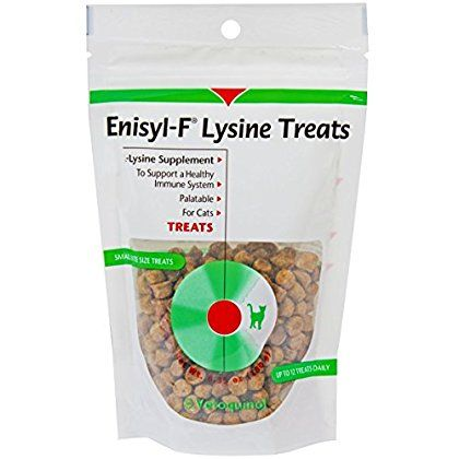 Vetoquinol Enisyl F Lysine Treats 6 35 Oz Re Closable Pouch 180gm Check This Awesome Product By Going To The Link At The Image Dog Snacks Cats Dog Chews