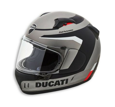 Ebay Sponsored Ducati Arai Renegade V Noir Steel Casque Casque Noir