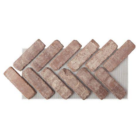 Brick Pavers, Brick Flooring, Concrete Patio, Kitchen Flooring, Thin Brick, Grey Brick, Herringbone Tile Floors, Pebble Mosaic, Travertine Tile