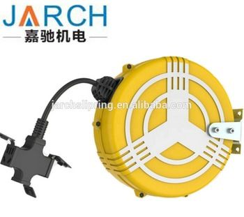 220v Power Lowes Electrical Cord Reel Mini Cable Hose Reel View