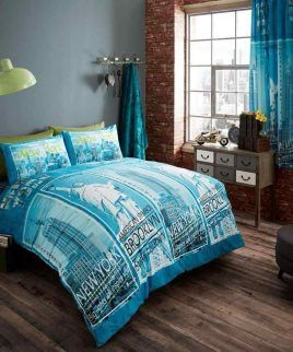 Inspire Teal Bedding Set Teal Bedding Sets Matching Bedding Curtains Bed