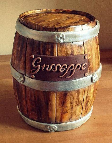 cake barrel - Cake by passioni di zucchero
