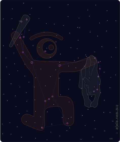 épica visión puesta en las estrellas:       °constelación de ojón°  la mirada cósmica de la semana       ! °)