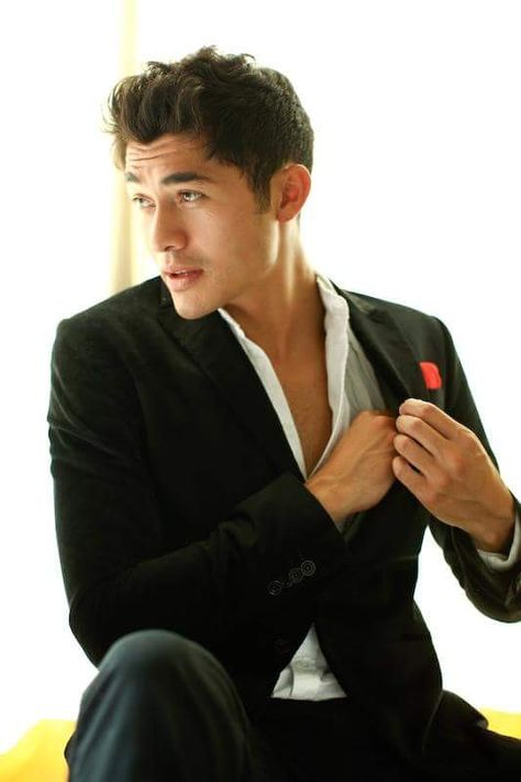 I'm usually not into Asian dudes, but Henry Golding has a British accent - so yeah.