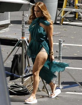Jennifer Lopez is listed (or ranked) 10 on the list The 40 Ugliest Photos of (Usually Hot) Famous Chicks