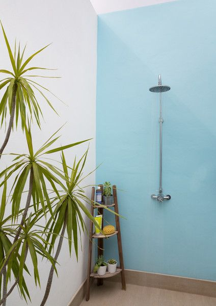 Shower Me - A Miami Home That Effortlessly Fuses Minimalism And Color  - Photos