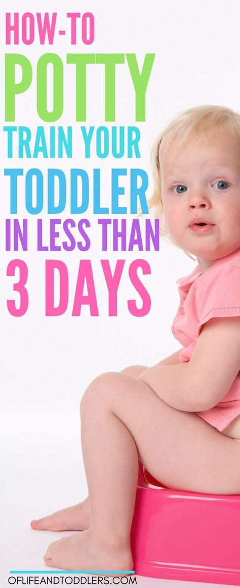 How one blogger potty trained her son in less than 3 days