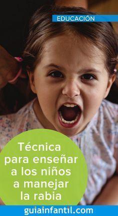 Técnica de las 5 preguntas para enseñar a los niños a manejar la rabia