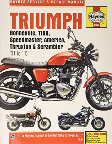 triumph bonneville t100 speedmaster america thruxton scrambler rh pinterest com 12H802 Manual Yamaha Service Manuals PDF