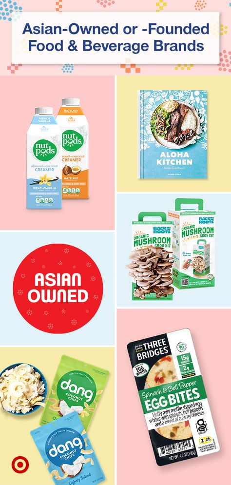 Discover Asian-owned or -founded food  beverage brands that honor eastern culture  heritage. Find ideas for your grocery list—lunch, dinner, coffee, snacking.