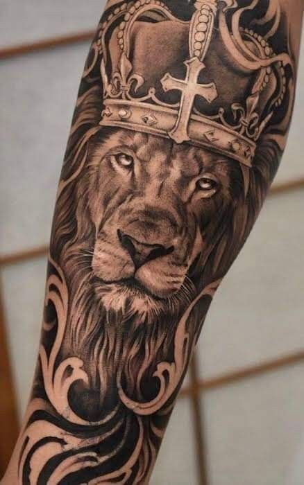 Elegir El Diseno Signifiant Un Tatuaje Virtually No Siempre Es Lo Mas Sencillo Ya Qui Tatuajes De Brazo Masculinos Tatuajes De Leon Tatuajes De Cabeza De Leon