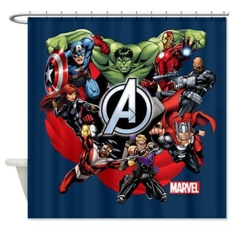 Avengers Bathroom Decor Ideas And Tips Home Interiors Funny Shower Curtains Superhero Shower Curtain Superhero Bathroom