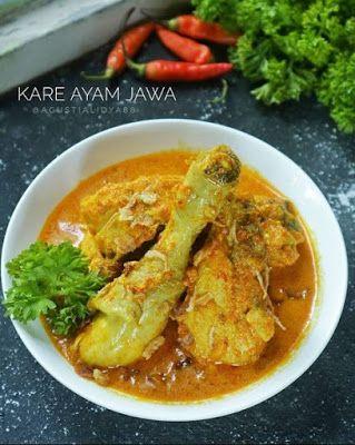 Kare Ayam Jawa Di 2020 Resep Resep Masakan Resep Ayam Kari
