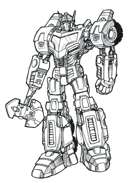 Transformers Optimus Prime Coloring Page Printables Transformers Coloring Pages Prime Colors Transformers Optimus Prime