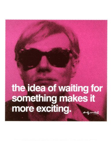 I want an Andy Warhol themed entertainment room...