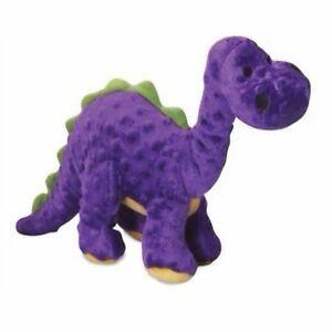 Details about Quaker Pet GoDog Dinos Purple Bruto Chew Guard Technology  Tough Dog Toy Large
