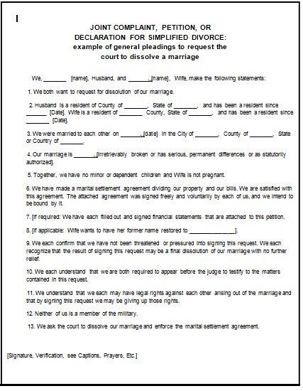 Fake divorce papers pdf worksheet to print fake divorce papers Daily
