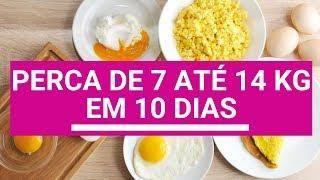 Como fazer dieta do ovo de 3 dias