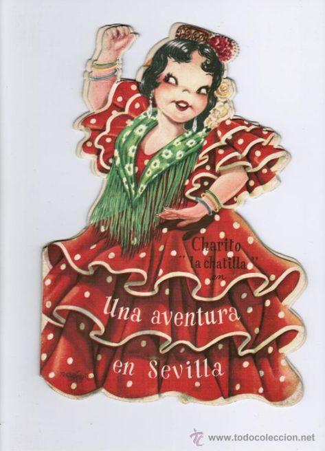 CHARITO LA CHATILLA - POR JUAN FERRÁNDIZ - EDITA: VILCAR - CUENTO TROQUELADO (Libros de Lance - Literatura Infantil y Juvenil - Cuentos)