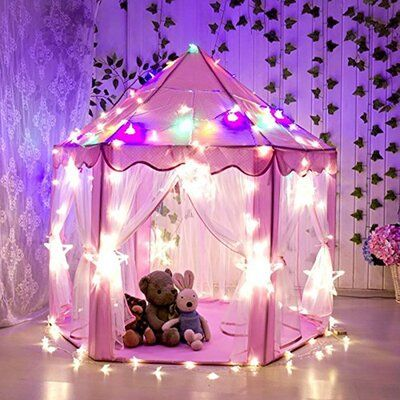 Princess Playhouse, Castle Playhouse, Build A Playhouse, Playhouse Outdoor, Princess Castle, Outdoor Toys, Pink Princess, Indoor Outdoor, Playhouse Kits