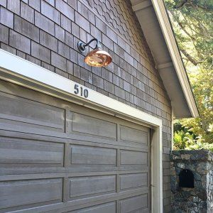 Thanks Rejuvenation For Making Such Beautiful Lights And House Numbers Copperismyjam Shinebright Myold Garage Door Design Garage Door Styles Garage Doors