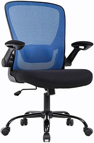 Amazing Offer On Kovalenthor Home Office Chair Desk Chair Mesh Computer Chair Lumbar Support Flip Up Arms Modern Task Chair Adjustable Swivel Rolling Execut In 2020 Ergonomic Chair Computer Chair Desk Chair