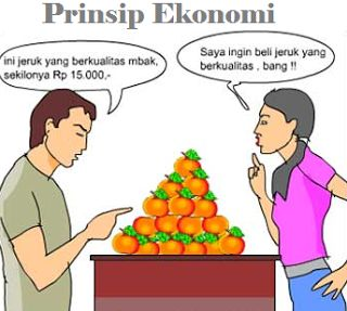 pengertian ciri tujuan dan 3 jenis prinsip ekonomi beserta