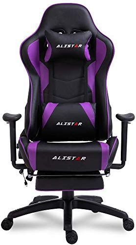Beautiful Alistar Gaming Chair Racing Office Chair High Back Computer Desk Chair Pu Leather Chair Ergonomic And Execut Pu Leather Chair Office Chair Desk Chair