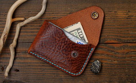 d669616cc8e2e Leather Card Wallet Card Holder Leather Wallet Mens