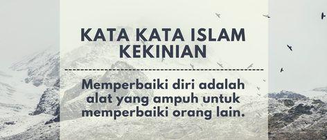 Kata Mutiara Islam Putus Cinta Bijak Islam Islamic Quotes