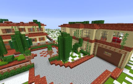 Perfect Italian Villas Minecraft Ideas And Creations With Map Villa