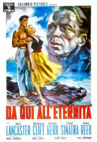 De Aquí A La Eternidad Movie Posters Goldposter Movie Posters From Here To Eternity Classic Movie Posters