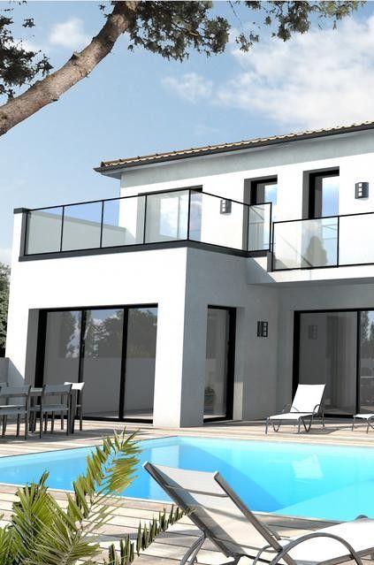 Maison avec toit terrasse : un aménagement moderne et ...