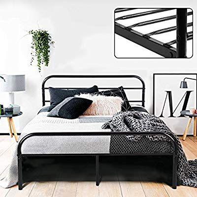 Amazon Com Greenforest Full Bed Frame Metal Platform Mattress