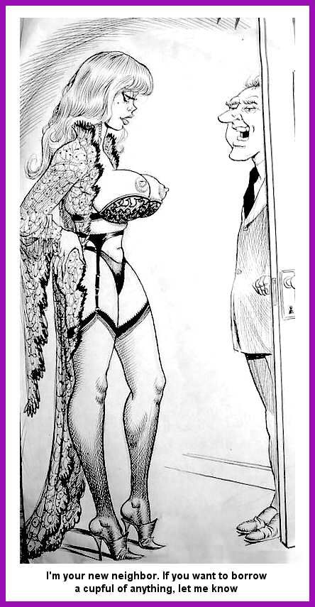 Bondage Cartoon Ward