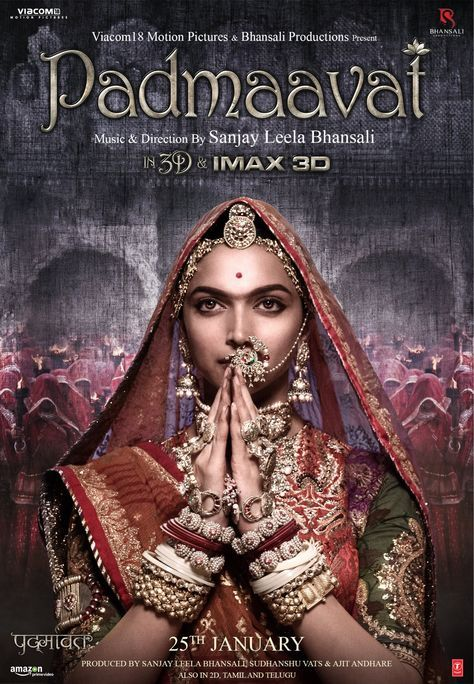 Padmavat 2018 Hindi Movie Free Download Full HD Bluray