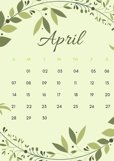 April 2019 Iphone Calendar Wallpapers Calendar Wallpaper Flower