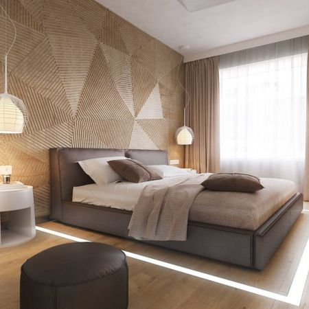 23 Modern Bedroom Wallpaper Decoration Ideas Contemporary