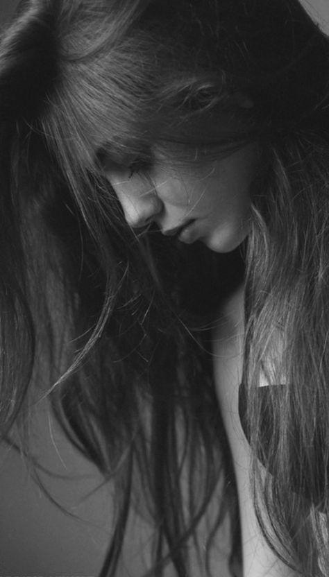 Photography Portrait Women Black And White Long Hair 34+ Best Ideas