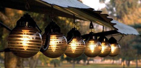 Lampen Und Originelle Beleuchtung Für Draußen Diy