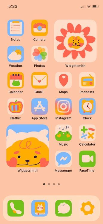 Cute Animals App Icon Set (iOS 14 & Android)