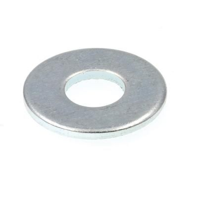 Prime Line Products 1 2 In X 1 3 8 In O D Zinc Plated Steel Uss Flat Washers 50 Pack Plating Steel Washer