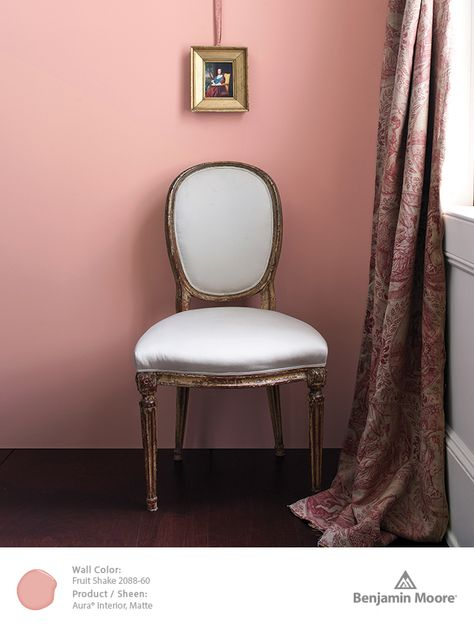 Benjamin Moore Fruit Shake 2088-60, part of our Color Trends 2014 palette.