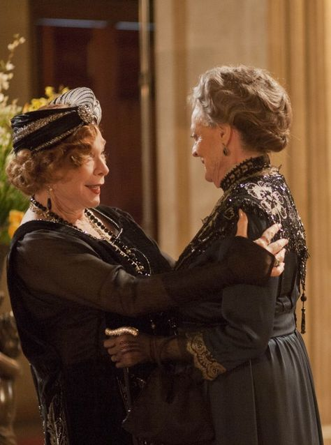 The incomparable Maggie Smith is one of our favourite things about Downton - who doesn't have a place in their heart for the Dowager Countess and her icy wit? We're sure Julian Fellowes will have given her some cracking lines to trade with real-life friend Shirley Maclaine.