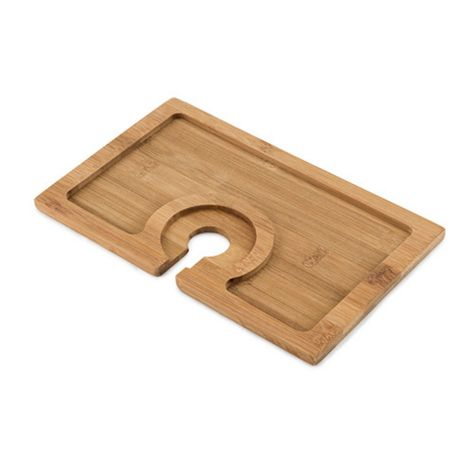 Bamboo Cocktail Appetizer Plates