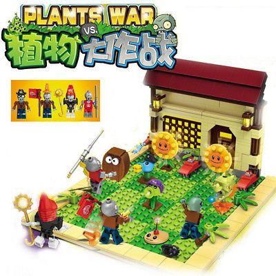 Bricks Toys Plants vs Zombies Garden maze DIY Toys for Kids Building Blocks NEW