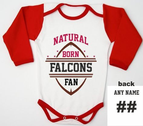 Football Baby Shower   Atlanta Football Jersey   Personalized Baby Gift   Newborn  Baby   Infant Bodysuit   Falcons Foodball Shirt   Baby Boy 79d2ad08d